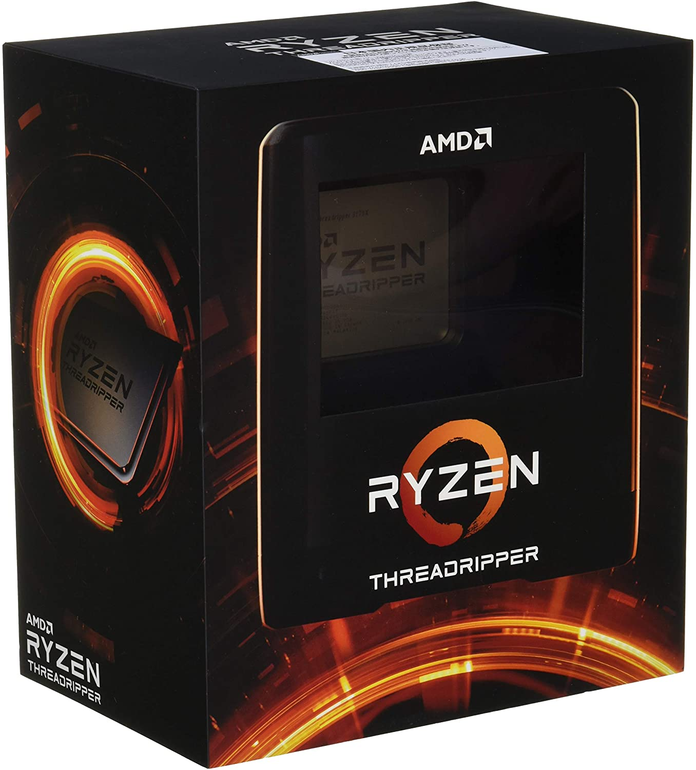 Amazon Com Amd Ryzen Threadripper 3970x 32 Core 64 Thread Unlocked Desktop Processor Without Cooler Computers Accessories