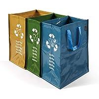 Perfetto conteneur de Recyclage, à 3Compartiments