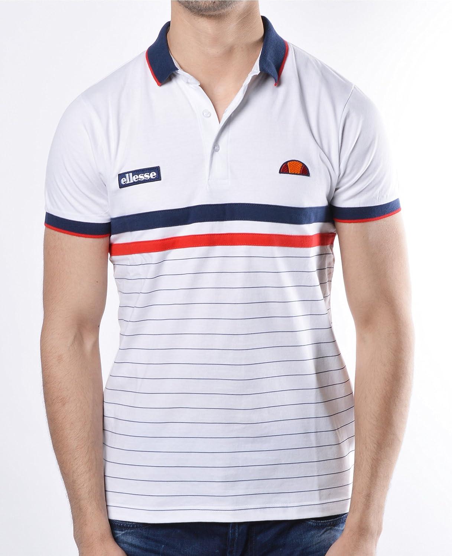 ellesse - Camiseta de tirantes - para hombre blanco blanco: Amazon ...