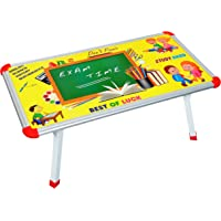BabyGo Strong Baby Kids Eating and Study Multipurpose Bed Table Foldable (60cm x 30cm) (Multicolor)