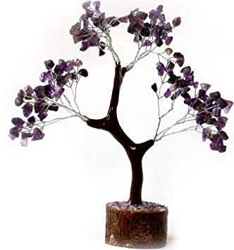 Buy 300 Stones Amethyst Tree Crystal Tree Agate Tree For Decoration Reiki Vastu Home Decor Office Decor And For Spiritual Gift Online At Low Prices In India Amazon In