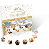Ferrero Golden Gallery Christmas Advent Calendar, 25 Count, Individually Wrapped Fine Assorted Chocolates, 233 grams