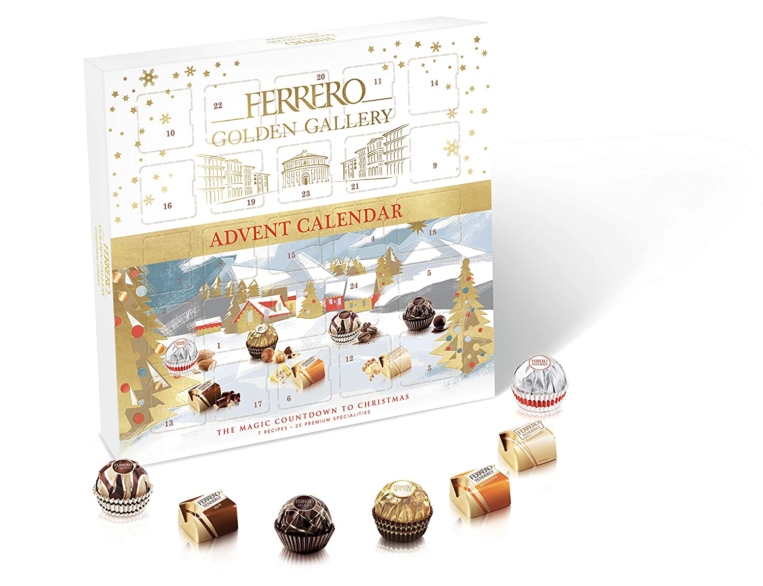 Ferrero Golden Gallery T25 Advent, 233g