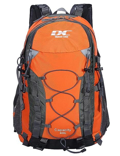 34dc4346ca Diamond Candy Zaino da Trekking Outdoor Donna e Uomo con Protezione Impermeabile  per alpinismo arrampicata equitazione