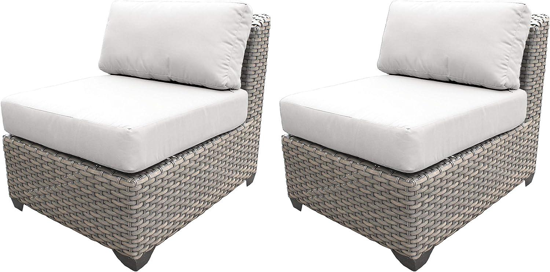 TK Classics TKC055b-AS-DB-WHITE Florence Seating Outdoor Furniture, Sail White