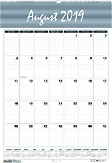 product image for House of Doolittle 2019-2020 Monthly Wall Calendar, Academic, Bar Harbor, 12 x 17 Inches, August - July (HOD352-20)