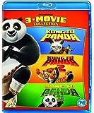 Kung Fu Panda 1-3 Box Set  - 2018 Artwork Refresh (3 Blu-Ray) [Edizione: Regno Unito]