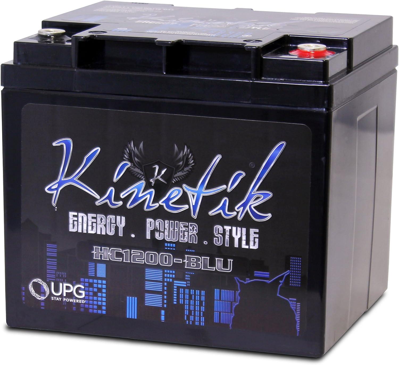 Kinetik HC1200-BLU Black Lead_Acid_Battery