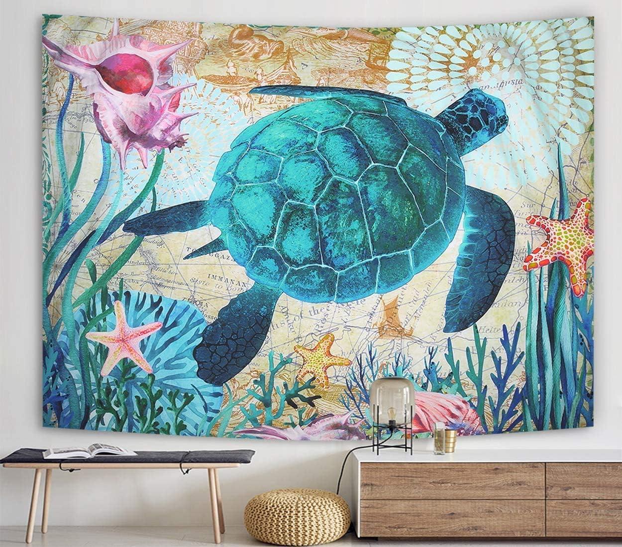 Zeronal Sea Turtles Tapestry, 59