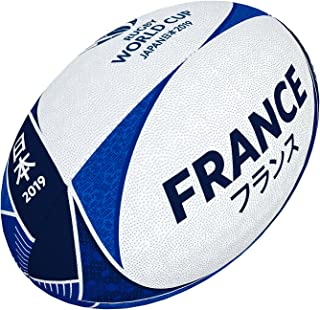 Gilbert Ballon Rugby Coupe du Monde 2019 - France - T5 Supporter Multicolore Grays 48418805