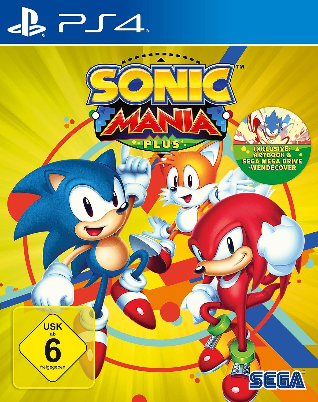 Sonic Mania Plus (PlayStation PS4): Amazon.es: Videojuegos