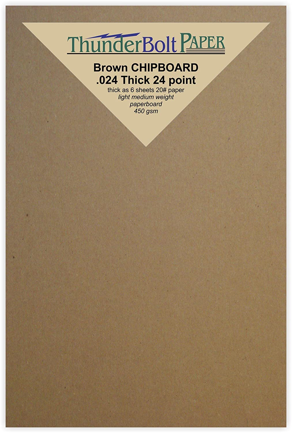 Amazon.com: 100 Sheets Chipboard 24pt (point) 4\