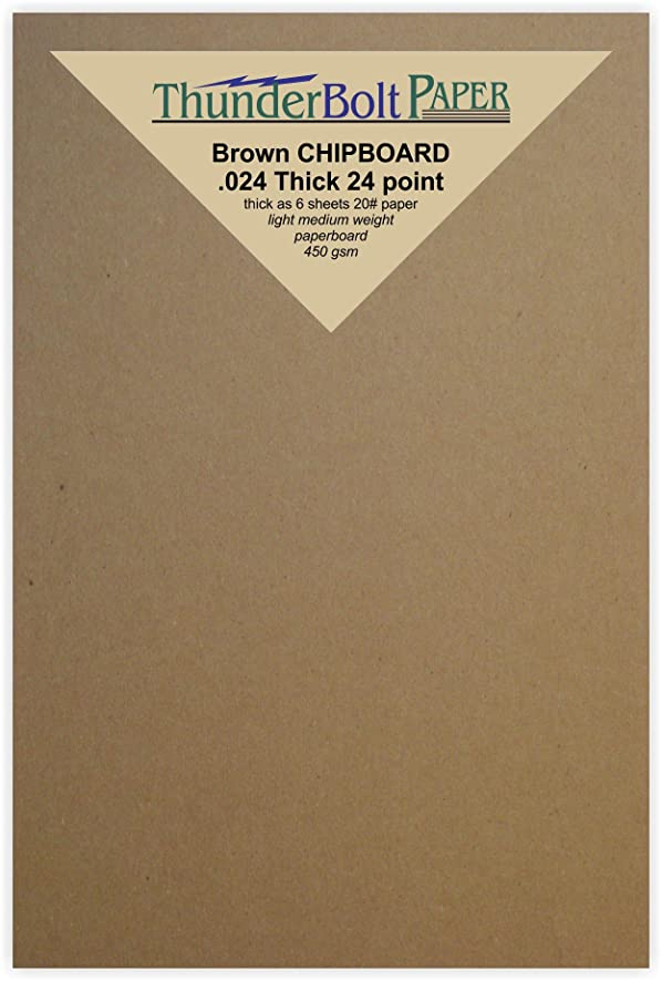 sample invitation letter for chins2 visa%0A Amazon com      Sheets Chipboard   pt  point      X       X  Inches   Photo Card Frame Size      Caliper Thick Cardboard Craft  Shipping and  Packing Brown