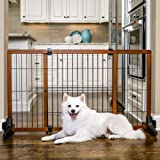 Carlson Freestanding Pet Gate, Large