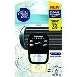 Ambi Pur Premium Clip Aqua Car Air Freshener, 7.5 Milliliters, Packof4