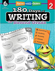 180 Days of Writing for Second Grade (180 Days of Practice)