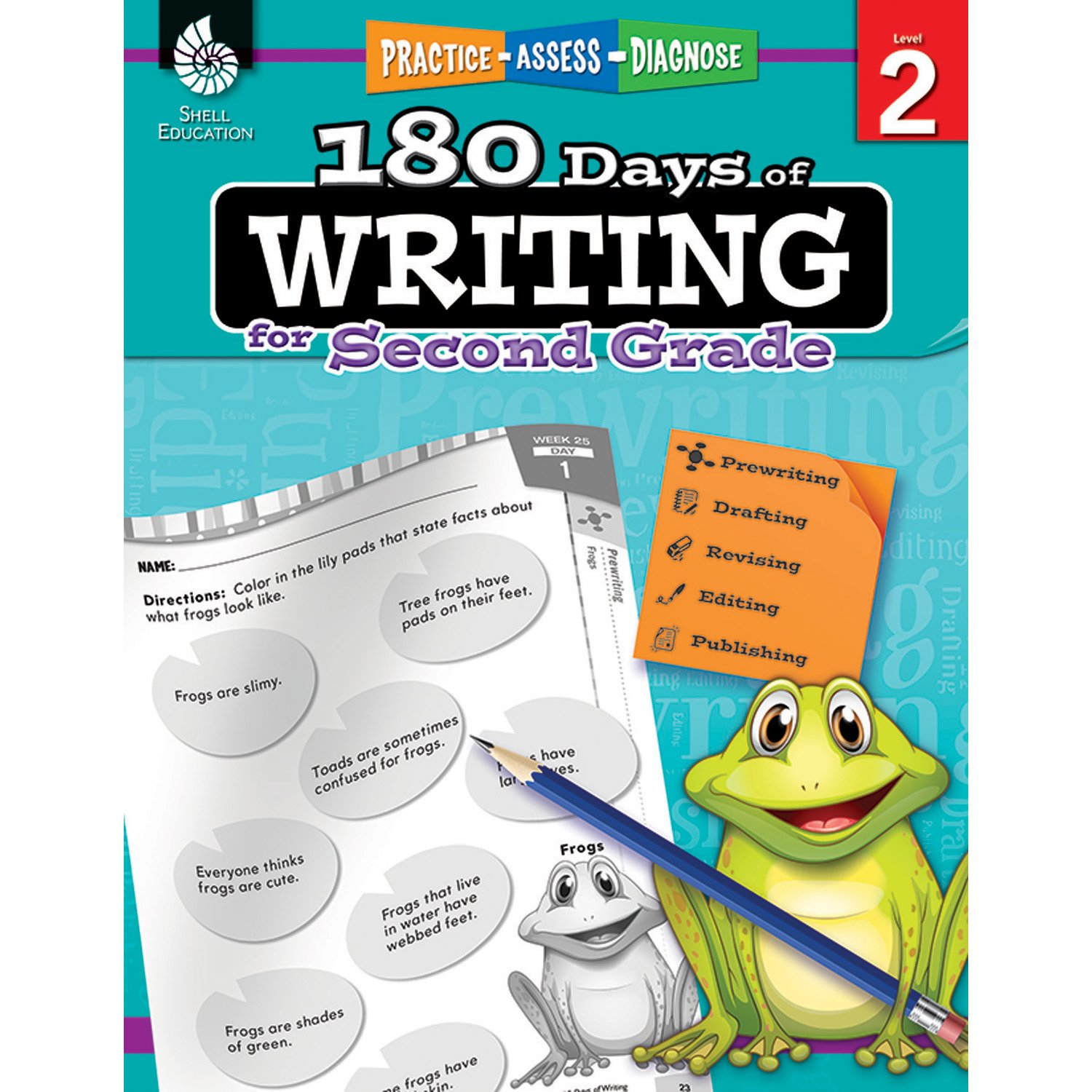 Amazon.com: 180 Days of Writing for Second Grade - An Easy-to-Use ...