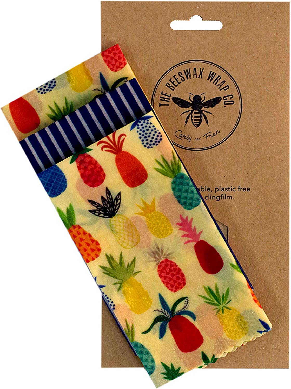 The Beeswax Wrap Co - Pack de queso y sándwich: Amazon.es: Hogar