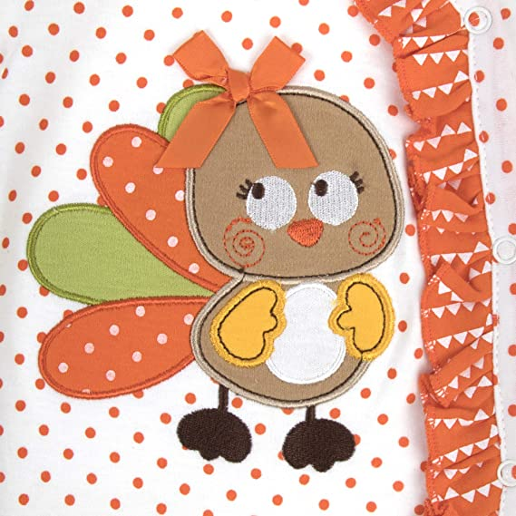 Thanksgiving Pajamas for Toddlers and Baby Layettes for Baby Boy and Girl in 2 Piece Coverall Sets