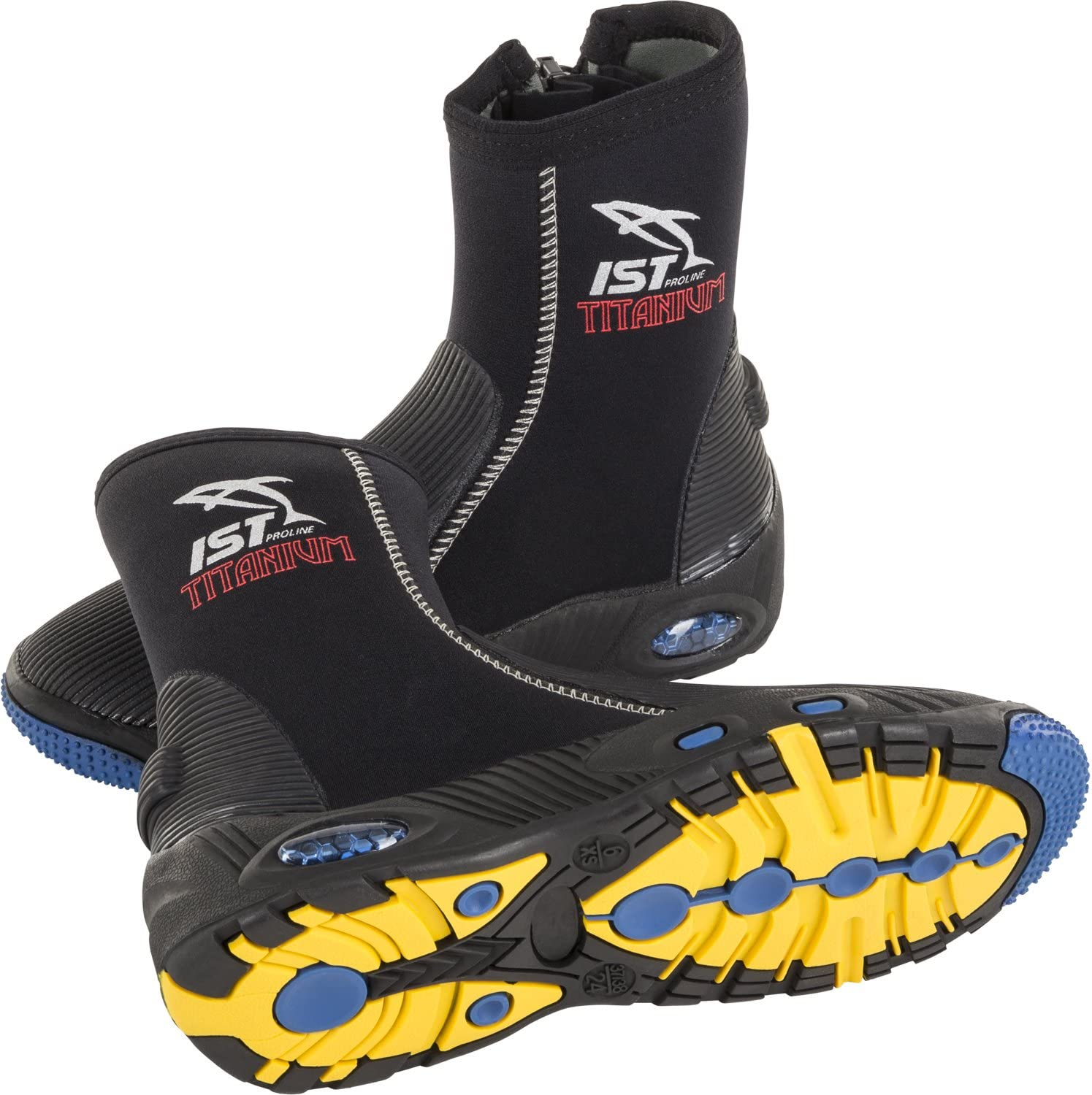 IST 5mm Selling and selling Nylon II Titanium Dive Now on sale Neoprene Boot - Scuba