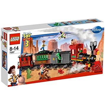 Lego Toy Story 7597 Western Train Chase Amazon Toys Games