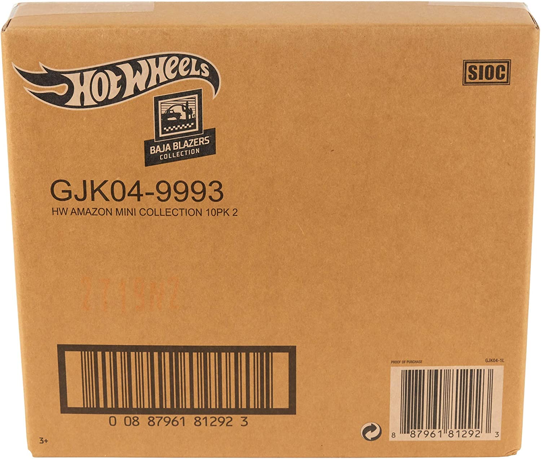 Hot Wheels Baja Blazers 10-Pack Diecast Mini Collection Exclusive