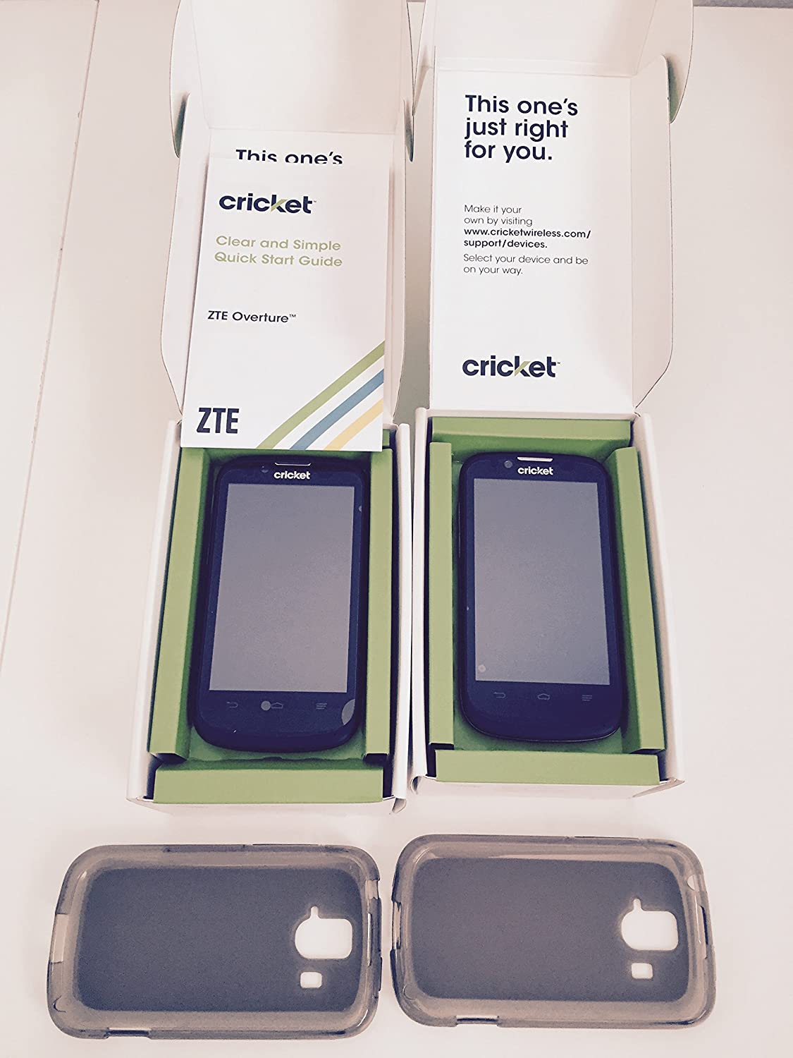 Cricketwireless com support devices - Amazon Com Zte Overture Z995 Smartphone Cricket No Contract Cell Phones Accessories