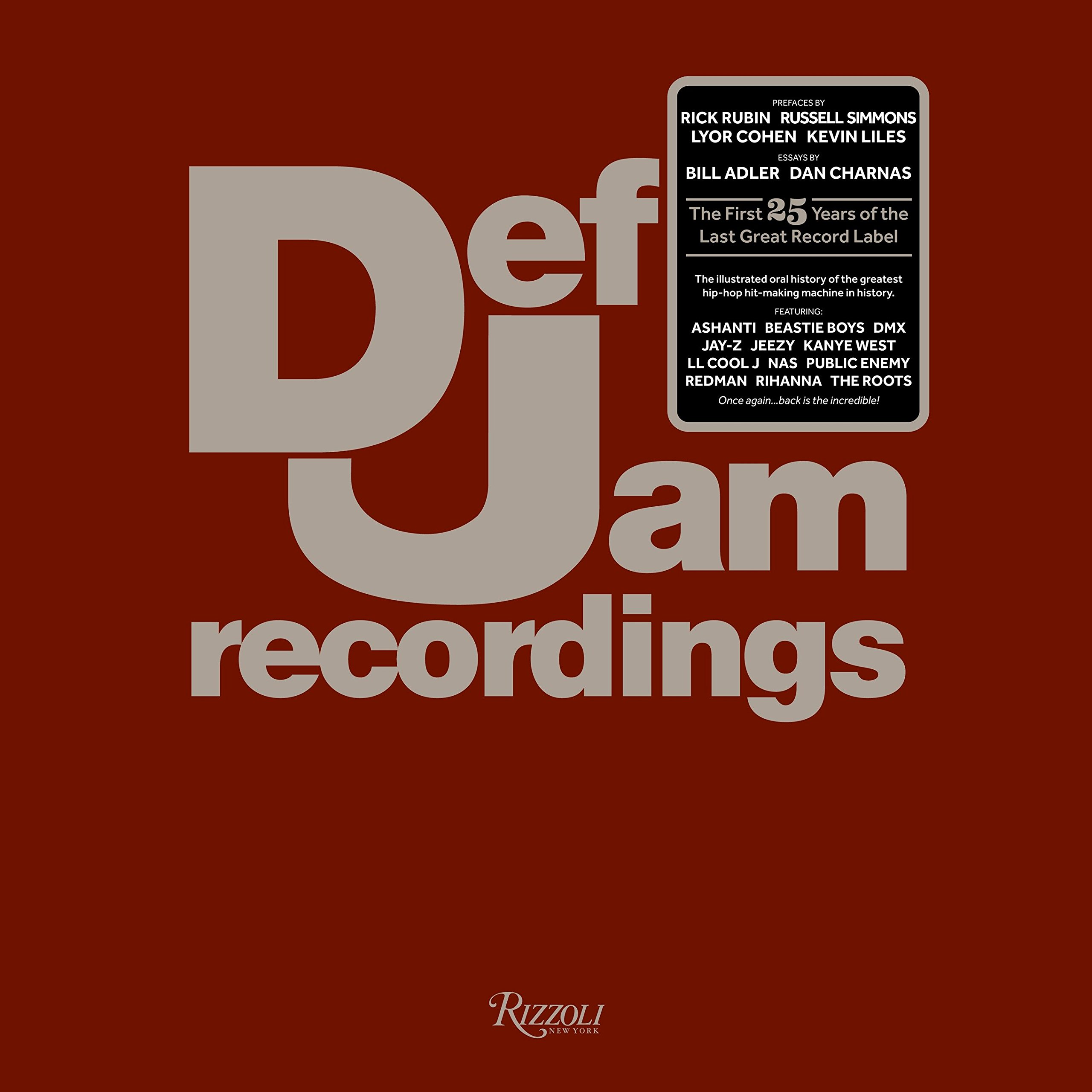 Def Jam Recordings: The First 25 Years of the Last Great Record Label: Amazon.es: Def Jam Recordings, Adler, Bill: Libros en idiomas extranjeros