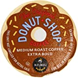 Coffee People Donut Shop K-Cups for Keurig Brewers, Medium Roast, Extra bold, 80 Count