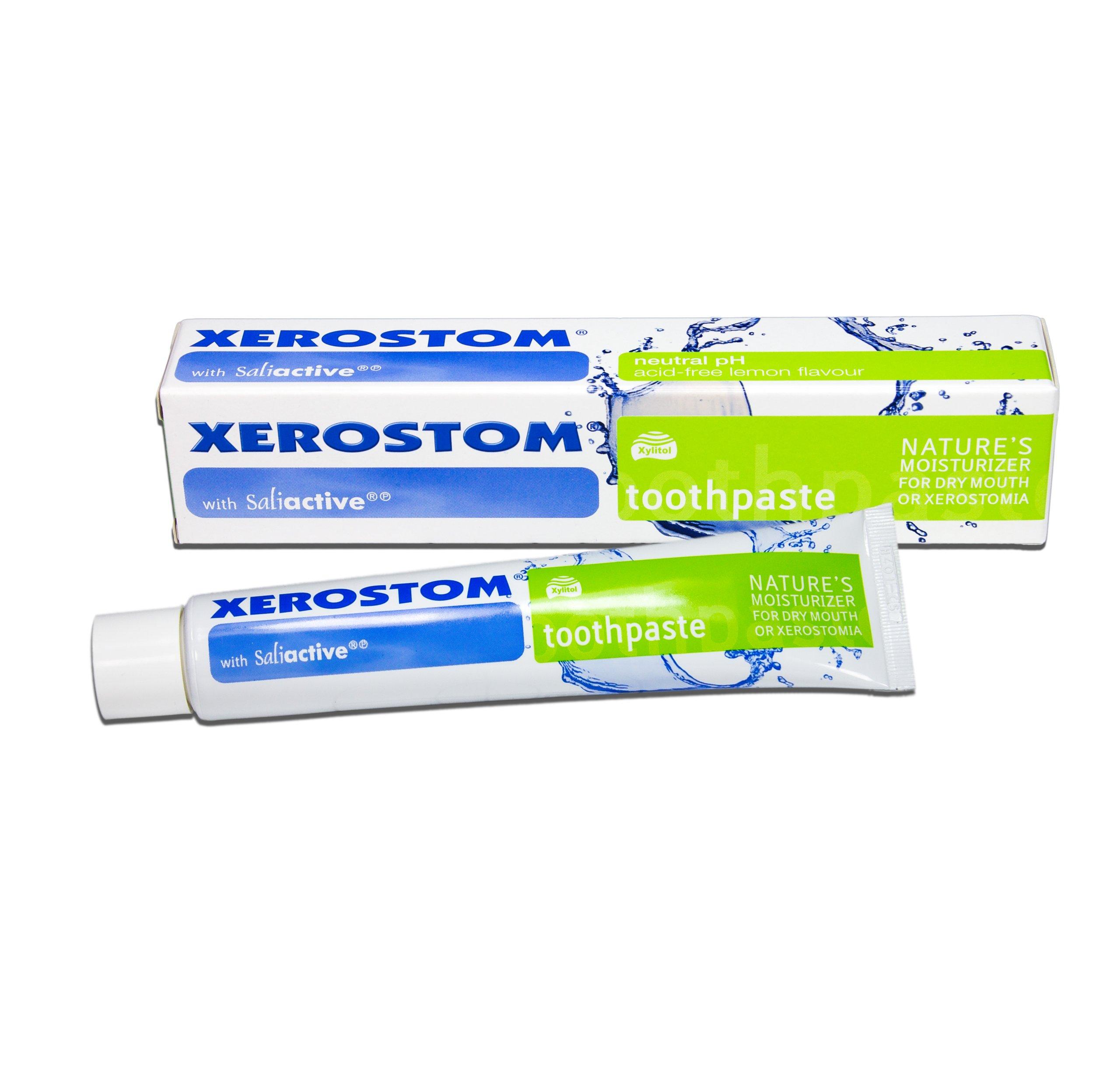 Xerostom With Saliactive For Dry Mouth Or Xerostomia Toothpaste 50ml