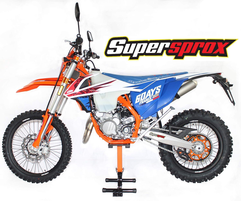 Orange 48T Supersprox Stealth Rear Sprocket for 94-19 KTM 250SX
