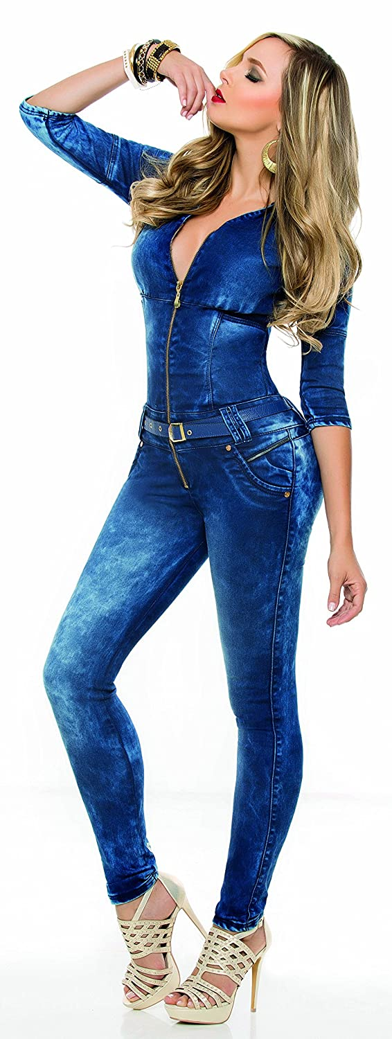 Delicate Aranza Women S Push Up Butt Lifting Stretch Jeans Levantacola Enterizo Colombianos Cloonlooschool Ie