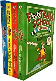 Football School Season Series Collection 4 Books Set