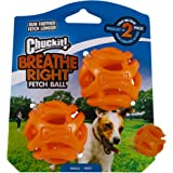 Chuckit! 31931 Breathe Right Fetch Ball 2-Pack, Small