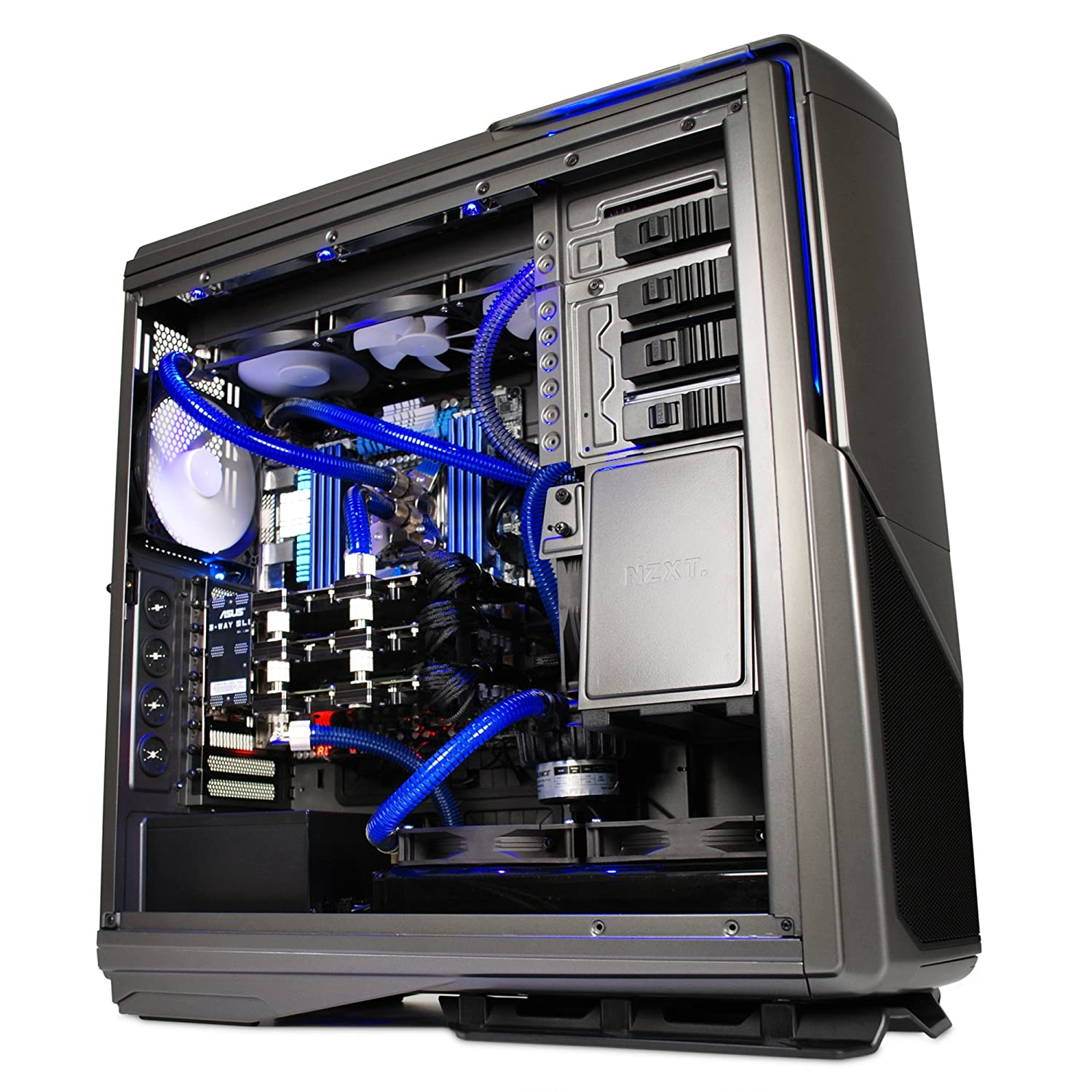 Amazon.in: Buy NZXT PHANTOM 820 No Power Supply ATX Full Tower Case  (Gunmetal) Online at Low Prices in India | Nzxt Reviews & Ratings