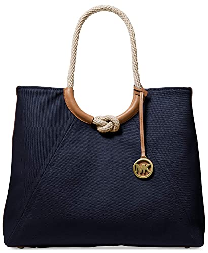 fb464c724d6da Amazon.com  Michael Kors Isla Ring Shoulder Tote (Admiral)  Shoes