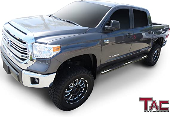 Hoop II Heavy Duty Truck Steps Pair Polish Fits 2015 Chevy Colorado /& GMC Canyon