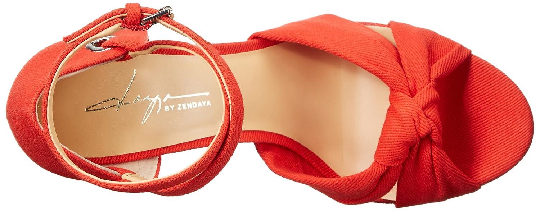 Daya by Zendaya Women's Mission Platform Sandal B01K1JAAZ4 8 B(M) US|Mandarin