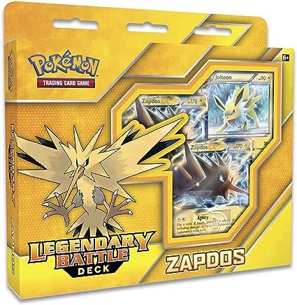 Legendary Battle Decks Pokemon TCG Online Zapdos Online Bonus Code Card