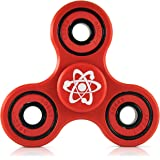 Fidget Spinner w/ Premium Si3N4 Hybrid Ceramic Bearing by Playroom Science EDC Non-3D Printed Fidget Toy - Perfect for ADHD, Anxiety, Stress, Sensory or to Quit Smoking.