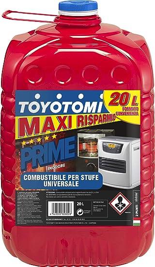 Toyotomi PRIME20L Primas Combustible Para Estufa Zibro, 20 ...