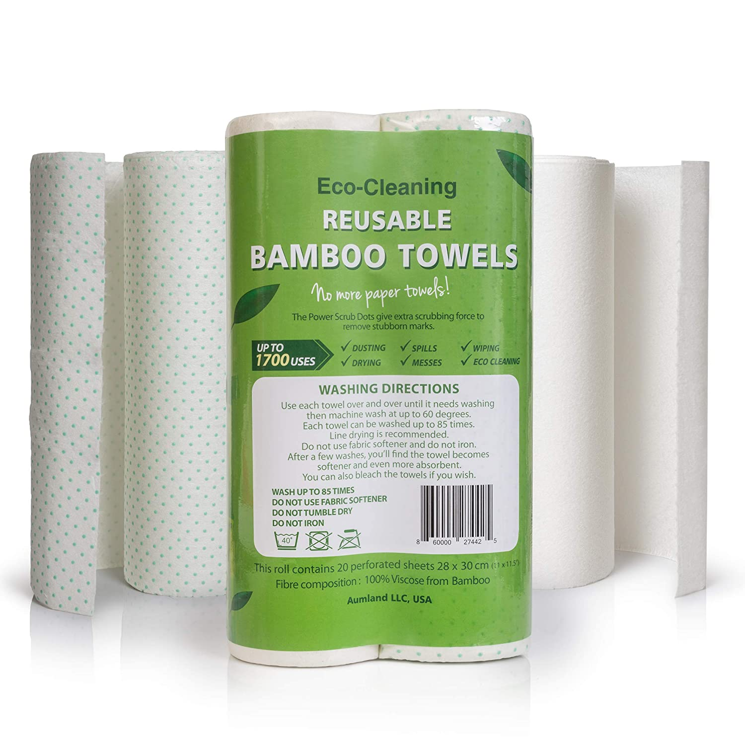 Aumland Eco Friendly White Paper Towels