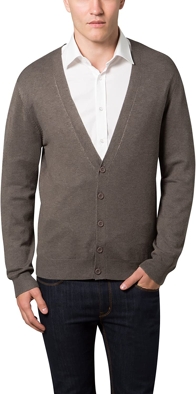 Lower East Mens Cardigan with V-Neck