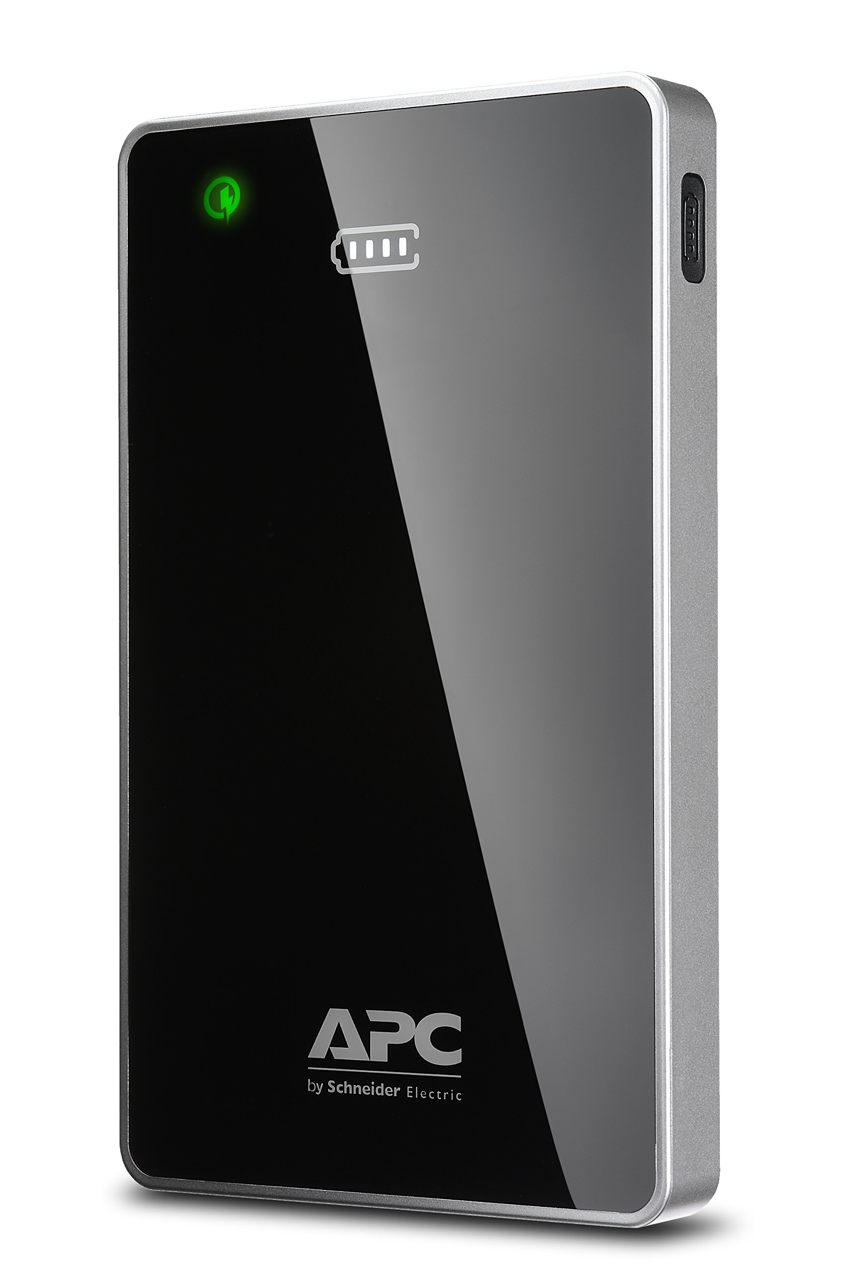 APC M12BK Mobile Power Pack, Portable Charger with Qualcomm Quick Charge 2.0 , 12000mAh