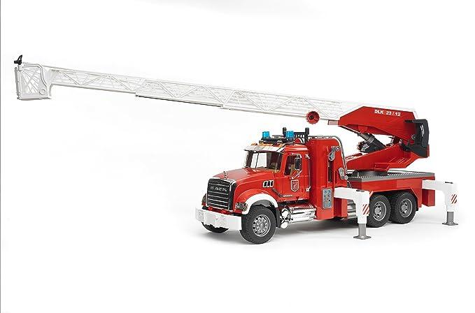 02821 PompieriAmazon Bruder itGiochi Mack E Autopompa Camion 8wnPXkO0