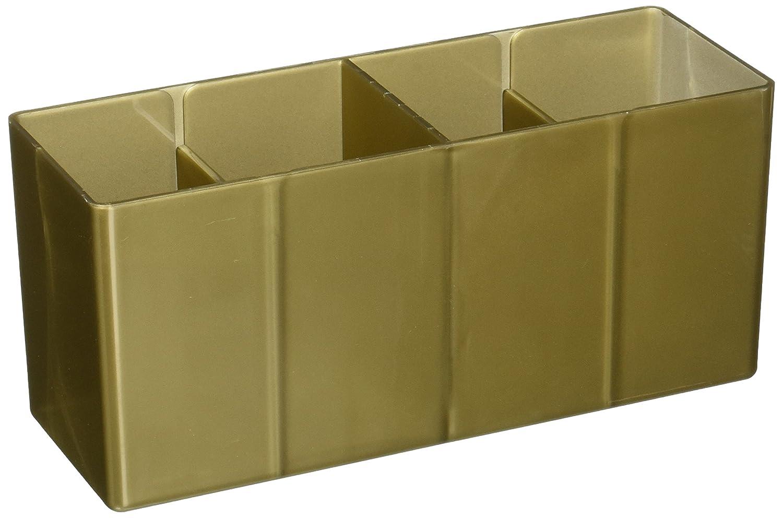 Sammelkartenspielzubeh/ör Dragon Shield 4 Compartment Storage Box Gold Arcane Tinmen 20306