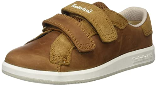 Timberland Court Side H&l Oxtrail Saddleback Full Grain, Mocasines para Bebés, Verde (Trail
