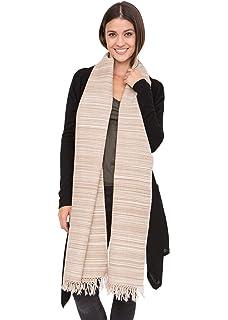 9a3951014 Herringbone Handloom Merino Wool Pashmina Scarf Black 200 X 75cm ...
