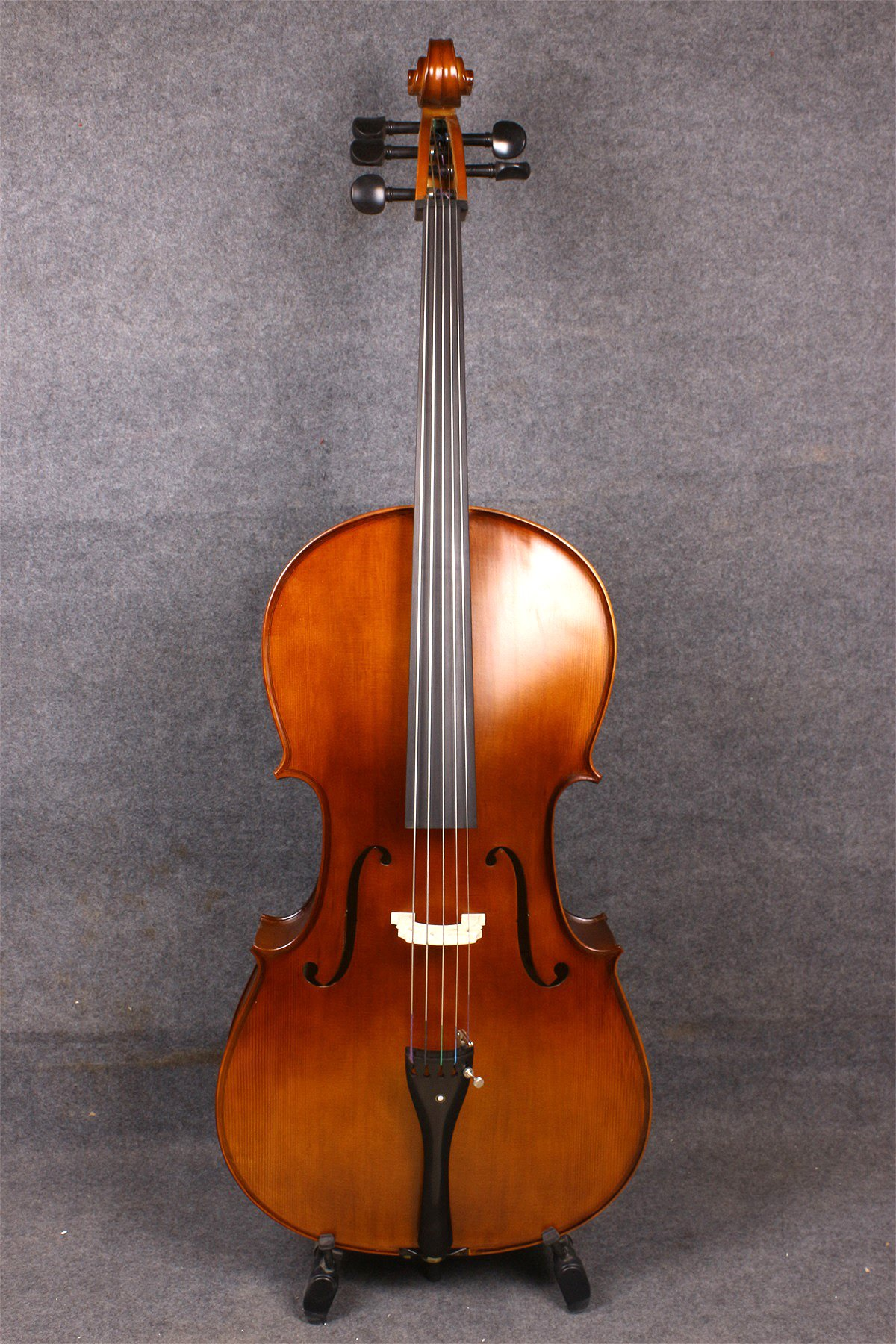 Yinfente 4/4 5 String Cello Acoustic Model Full size Spruce Maple wood Free Cello bow Bag Sweet Sound by yinfente (Image #4)
