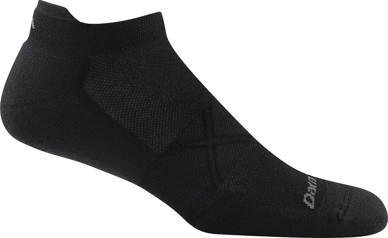 Darn Tough Vertex No Show Tab Ultralight Cushion Sock - Men's Black Medium